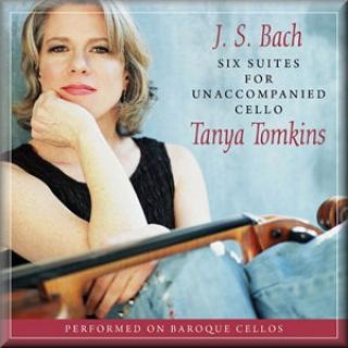 Bach Cello Suites (2 Cds) - Tanya Tomkins