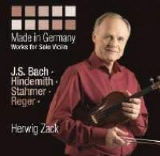 Made In Germany - Works For Solo Violin - Herwig Zack (violin)