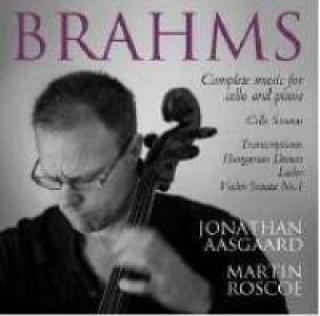 Brahms, Johannes: Musikk For Cello Og Klaver - Komplett - Aasgaard, Jonathan (cello)