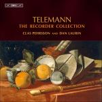 Telemann, Georg Philipp: The Recorder Collection <span>-</span> Laurin, Dan (recorder) / Pehrson, Clas (recorder)