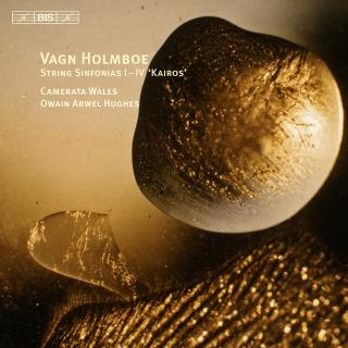 Holmboe, Vagn: Kairos, sinfonias for strings - Camerata Wales / Arwel Hughes, Owain (conductor)