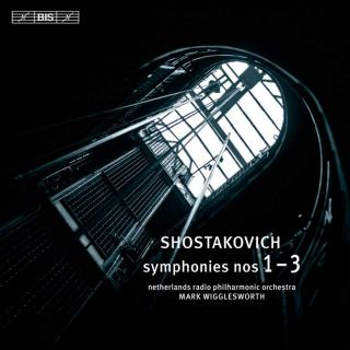 Shostakovich, Dmitri: Symphonies Nos 1 - 3 - Netherlands Radio Philharmonic Orchestra / Wigglesworth, Mark (conductor)