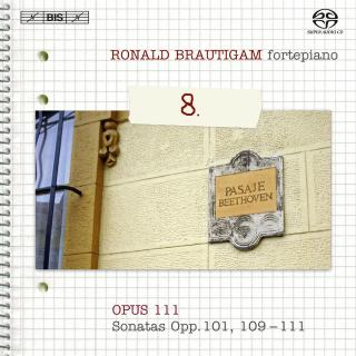 Beethoven, Ludwig van: Complete works for solo piano, Vol.8 - Brautigam, Ronald (fortepiano)