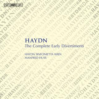 Haydn, Joseph: The Complete Early Divertimenti - Haydn Sinfonietta Wien / Huss, Manfred (conductor)