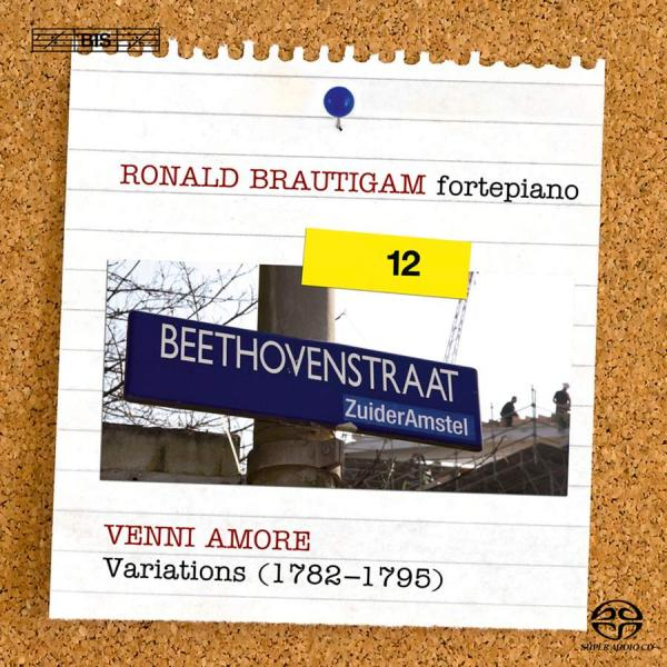 Beethoven, Ludwig van: Complete works for solo piano, Vol.12 <span>-</span> Brautigam, Ronald (fortepiano)