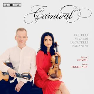 Carnival - a violin and guitar recital - Gomyo, Karen (violin)/ Eskelinen, Ismo (guitar)