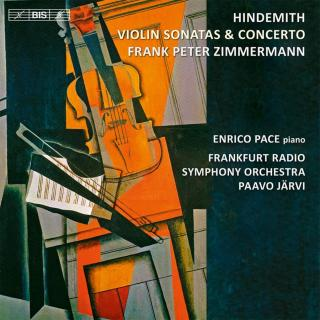 Hindemith, Paul: Violin Concerto and Sonatas - Zimmermann, Frank Peter (violin)
