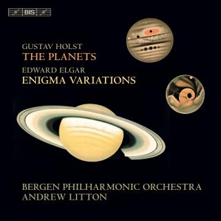 Holst & Elgar: The Planets & Enigma Variations - Bergen Philharmonic Orchestra / Litton, Andrew (conductor)