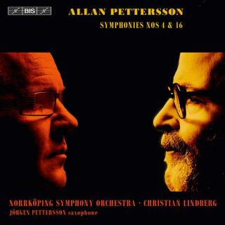 Pettersson, Allan: Symphonies Nos 4 & 16 - Norrköping Symphony Orchestra / Lindberg, Christian (conductor)