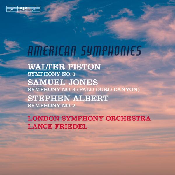 American Symphonies - Jones, Piston & Albert <span>-</span> London Symphony Orchestra / Friedel, Lance (conductor)