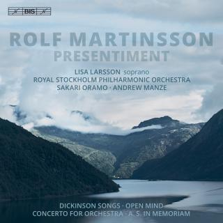 Martinsson, Rolf: Presentiment (Orchestral Works)