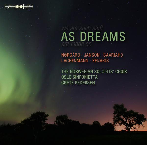 As Dreams <span>-</span> The Norwegian Soloists` Choir / Pedersen, Grete (conductor)