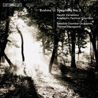 Brahms, Johannes: Symphony No.2 - Swedish Chamber Orchestra / Dausgaard, Thomas (conductor)