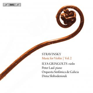 Stravinsky, Igor: Music for Violin, Vol.2 - Gringolts, Ilya (violin)