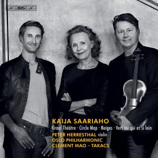 Saariaho, Kaija: Circle Map, Graal Théâtre & other works - Herresthal, Peter (violin)