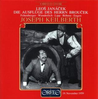 Janáček: The Excursions of Mr Broucek - Bayerisches Staatsorchester / Chor der Bayerischen Staatsoper / Keilberth, Joseph