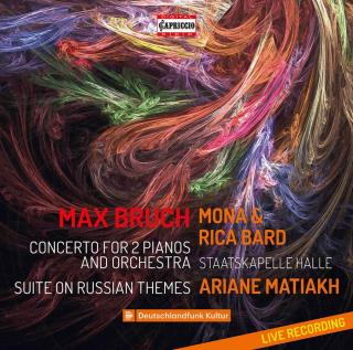 Bruch: Concerto for 2 Pianos & Orchestra; Suite on Russian Themes