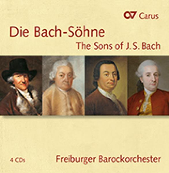 Die Bach-Söhne - The Sons of J. S. Bach <span>-</span> Freiburger Barockorchester