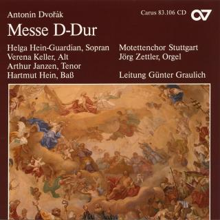 Dvorak: Messe D-Dur Op. 86 (B175) - Graulich, Gunther/Stuttgart Motet Choir