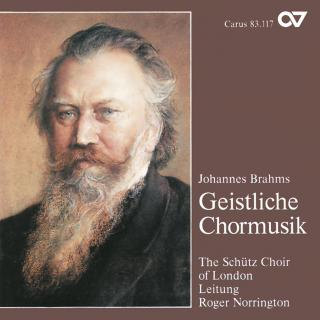 Brahms: Geistliche Chormusik - Schütz, Heinrich Choir London/Norrington, Roger
