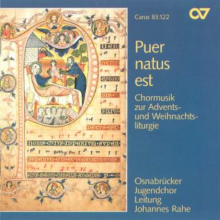 Puer Natus Est - Choral Music For Advent And Christmas - Osnabruck Youth Choir/Rahe, Johannes