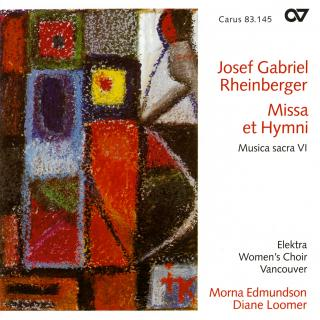 Rheinberger: Abendlied (Musica Sacra 5) - Vancouver Cantata Singers/Fankhauser, James