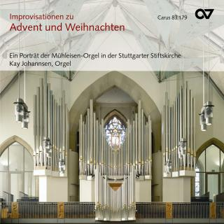Lieder For Advent And Christmas - 25 Improvisations On Well-Known German Lieder For Advent And Christmas - Johannsen, Kay (organ)