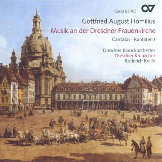 Homilius: Musik An Der Dresdner Frauenkirche Cantatas For The Feast Of Whitsun - Dresdner Kreuzchor/Kreile, Roderich