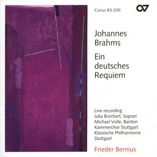 Brahms: Ein Deutsches Requiem, Op. 45 - Stuttgart Chamber Choir/Bernius, Frieder