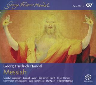 Handel: The Messiah (Engl.) - Bernius, Frieder/KAMMERCHOR STUTTGART