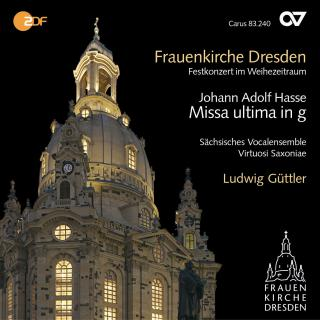 Hasse: Missa Ultima In G Minor - Sachsisches Vocalensemble/Guttler, Ludwig