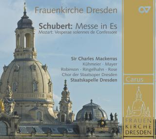 Mackerras Conducts Schubert & Mozart - Recorded In The Frauenkirche In Dresden - Staatskapelle Dresden/Mackerras, Sir Charles