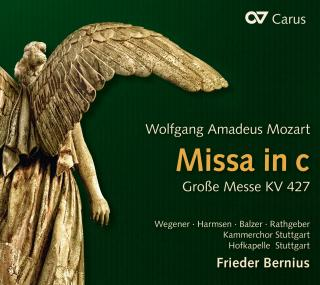 Mozart, Wolfgang Amadeus: Great Mass in C Minor KV 427 - Bernius, Frieder