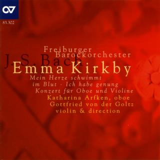 Bach: Cantatas And Concerto - Kirkby, Emma