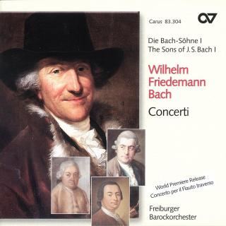 Wf Bach: Concerti - The Sons Of Bach 1 - Freiburger Barokorchester/Der Goltz, Gottfried Von