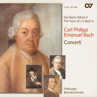 Cpe Bach: Concerti - The Sons Of Bach 2 - Freiburger Barockorchester Consort
