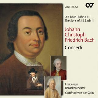 Jcf Bach: Concerti - The Sons Of Bach 3 - Freiburger Barockorchester/Der Goltz, Gottfried Von