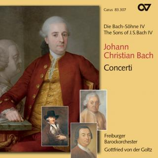 Jc Bach: Concertos - The Sons Of Bach 4 - Freiburger Barockorchester/Der Goltz, Gottfried Von (violin & direction)