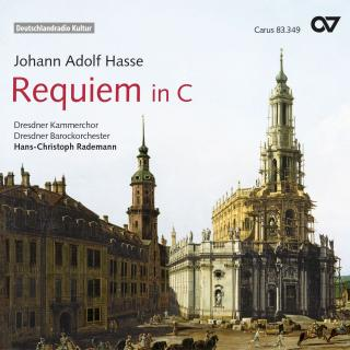Hasse: Requiem In C Major / Miserere C Minor - Dresdner Kammerchor/Redmann, Hans-Christoph