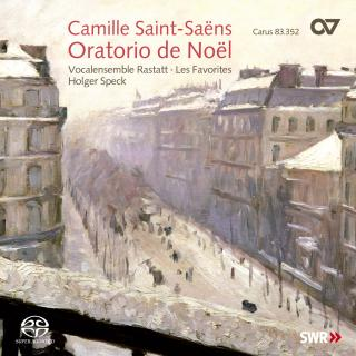 Saint-Saens: Christmas Oratorio Op. 12 / Church Music - Speck, Holger/VOCALENSEMBLE RASTATT