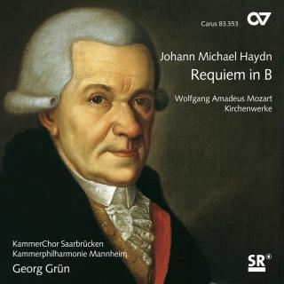 Haydn, Michael: Requiem B-Dur Mh 838/Wa Mozart: Church Music - Grün, Georg/SAARBRUCKEN CHAMBER CHOIR