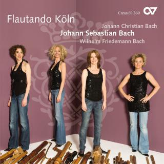 Js, Jc & Wf Bach: Music For Recorder Ensemble - Flautando Köln