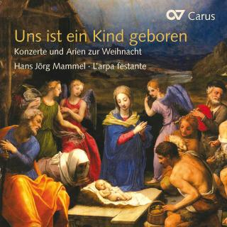 Uns Ist Ein Kind Geboren - Baroque Concertos & Arias For Christmas - Mammel, Hans-Jorg (tenor)