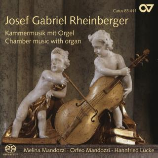 Rheinberger: Chamber Music With Organ - Mandozzi, Melina (violin)/Mandozzi, Orfeo (cello)/Lucke, Hannfried (organ)