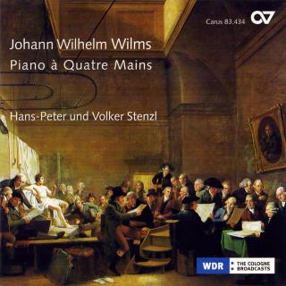 Wilms: Sonatas For Piano 4-Hands - Hans-Peter & Volker Stenzl (piano duo)