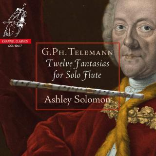 Telemann, Georg Philipp: Twelve Fantastias for Solo Flute - Solomon, Ashley (flute)