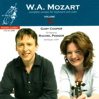 Mozart, Wolfgang Amadeus: Complete Sonatas for Keyboard & Violin, Volume 2 - Podger, Rachel (baroque violin) / Cooper, Gary (fortepiano)