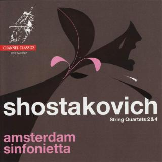 Shostakovich, Dmitri: String Quartets Nos 2 & 4 - Arranged by Marijn van Prooij - Amsterdam Sinfonietta / Thompson, Candida
