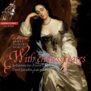 With Endless Teares - Zomer, Johannette (soprano) / Jacobs, Fred (theorbo)