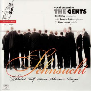 The Gents: Sehnsucht - German Romantic Repertoire - The Gents / Csillag, Béni